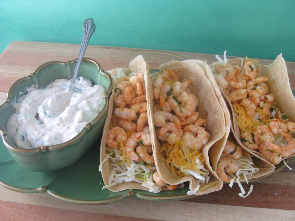 Mouthwatering {and Healthy!!} Valentine's Dinner Recipes | Kara's Party Ideas | Shrimp Tacos Recipe